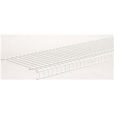 Closetmaid Superslide Linen Closet Shelf, 12 In. X 4 Ft., 6 Shelves Per Case ()