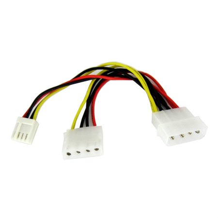 IDE 4 Pin Molex to 4 Pin Floppy Disk and 4 Pin Molex Power