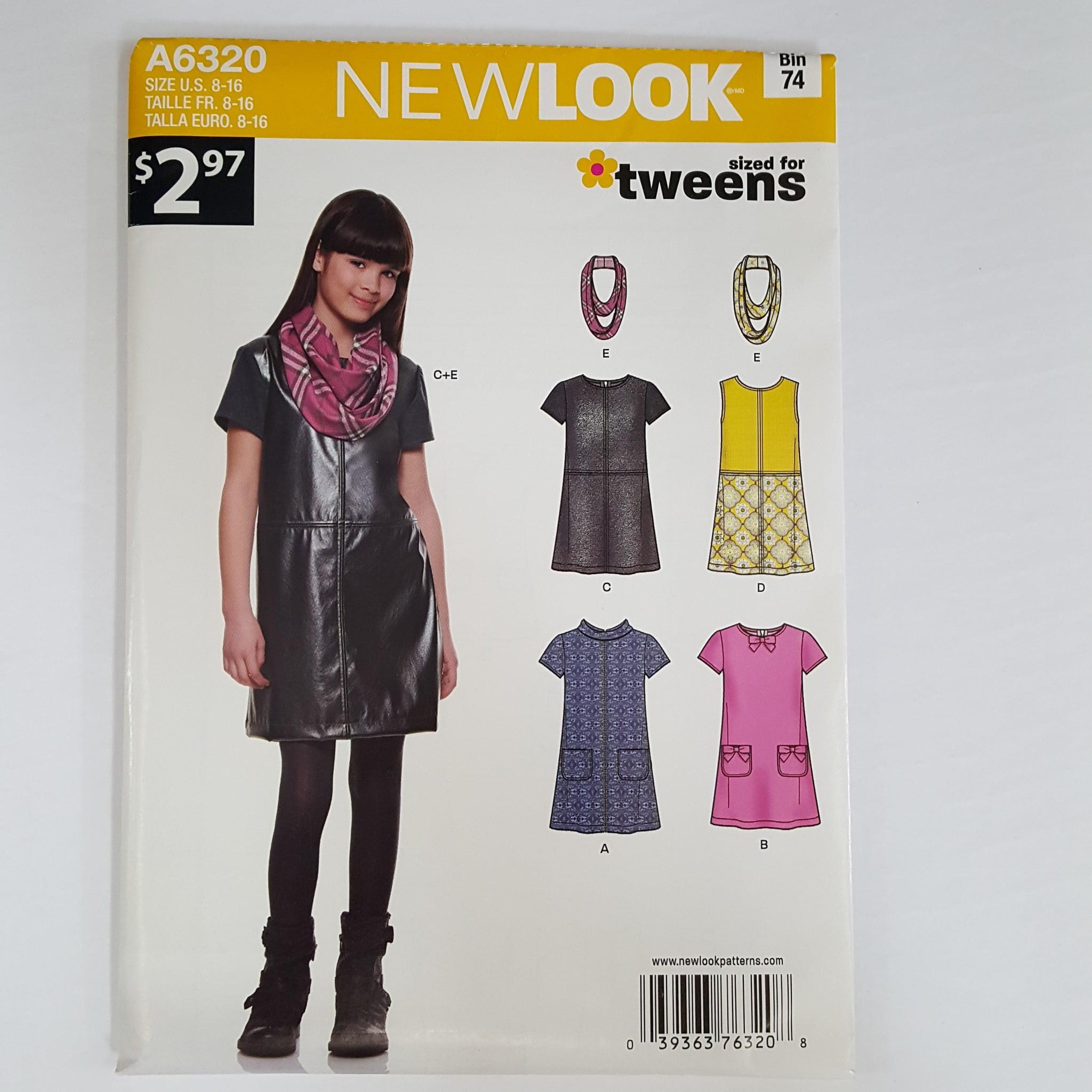 Simplicity New Look Dresses Girl