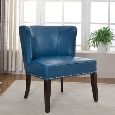 Superb Best Master Furnitures Contemporary Faux Leather Living Room Accent Chair Set Of 2 Multiple Colors Available Pabps2019 Chair Design Images Pabps2019Com