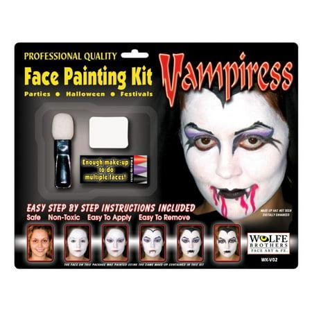 Vampiress Makeup Kit - Wolfe Bothers - Vampiress Makeup