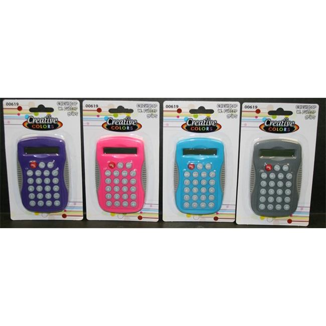 YDB Calculator with Rubber Grips, Case of 48