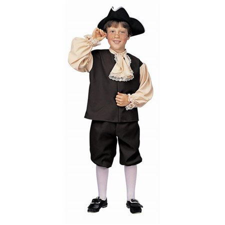 Costumes For All Occasions RU10051LG Colonial Boy Large](Boys Colonial Costume)