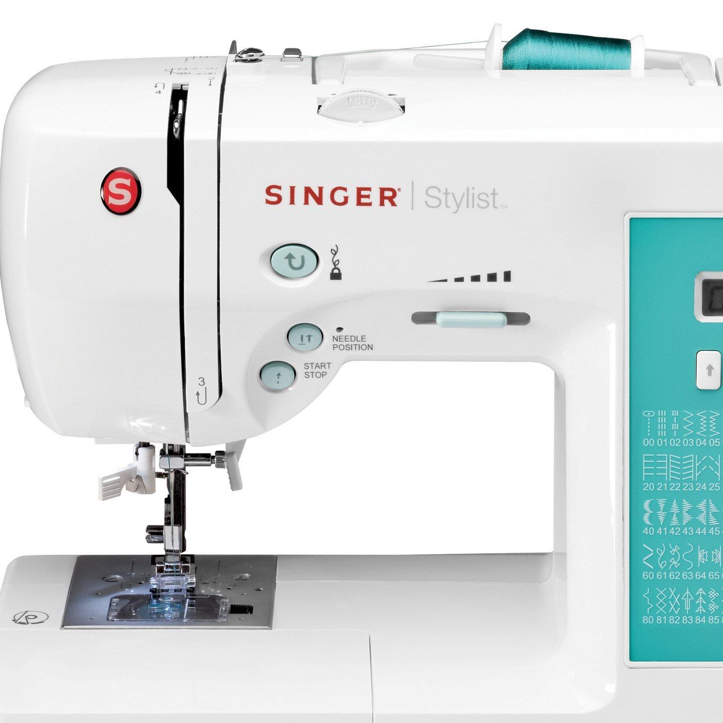 Singer 7258 Stylist Computerized 100 Stitch Sewing Machine Walmart Com