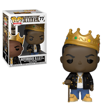 Funko POP Rocks: Music - Notorious B.I.G. w/
