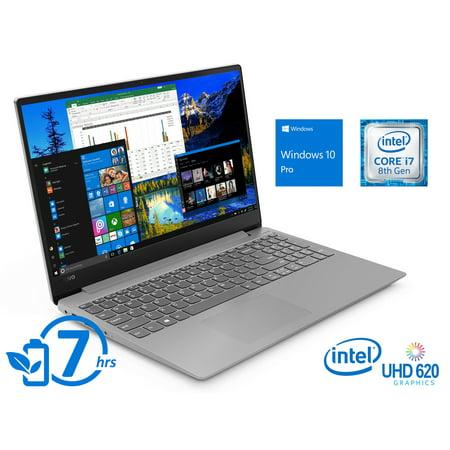 "Lenovo IdeaPad 330S Notebook, 15.6"" FHD Display, Intel Core i7-8550U Upto 4.0GHz, 12GB RAM, 512GB SSD, HDMI, Wi-Fi, Bluetooth, Windows 10 Pro"