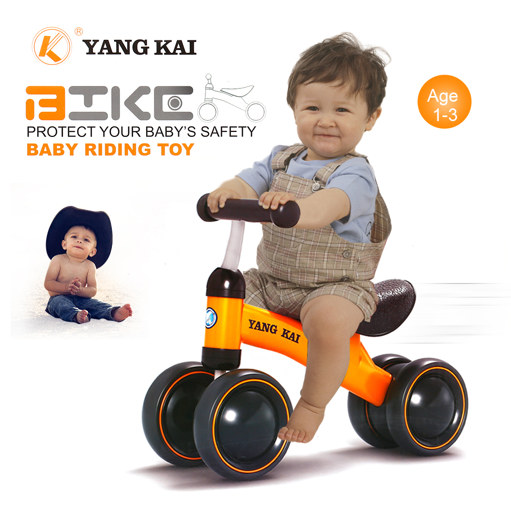 YANG KAI Q1+ Baby Balance Bike Learn To Walk No Foot Pedal Riding Toy