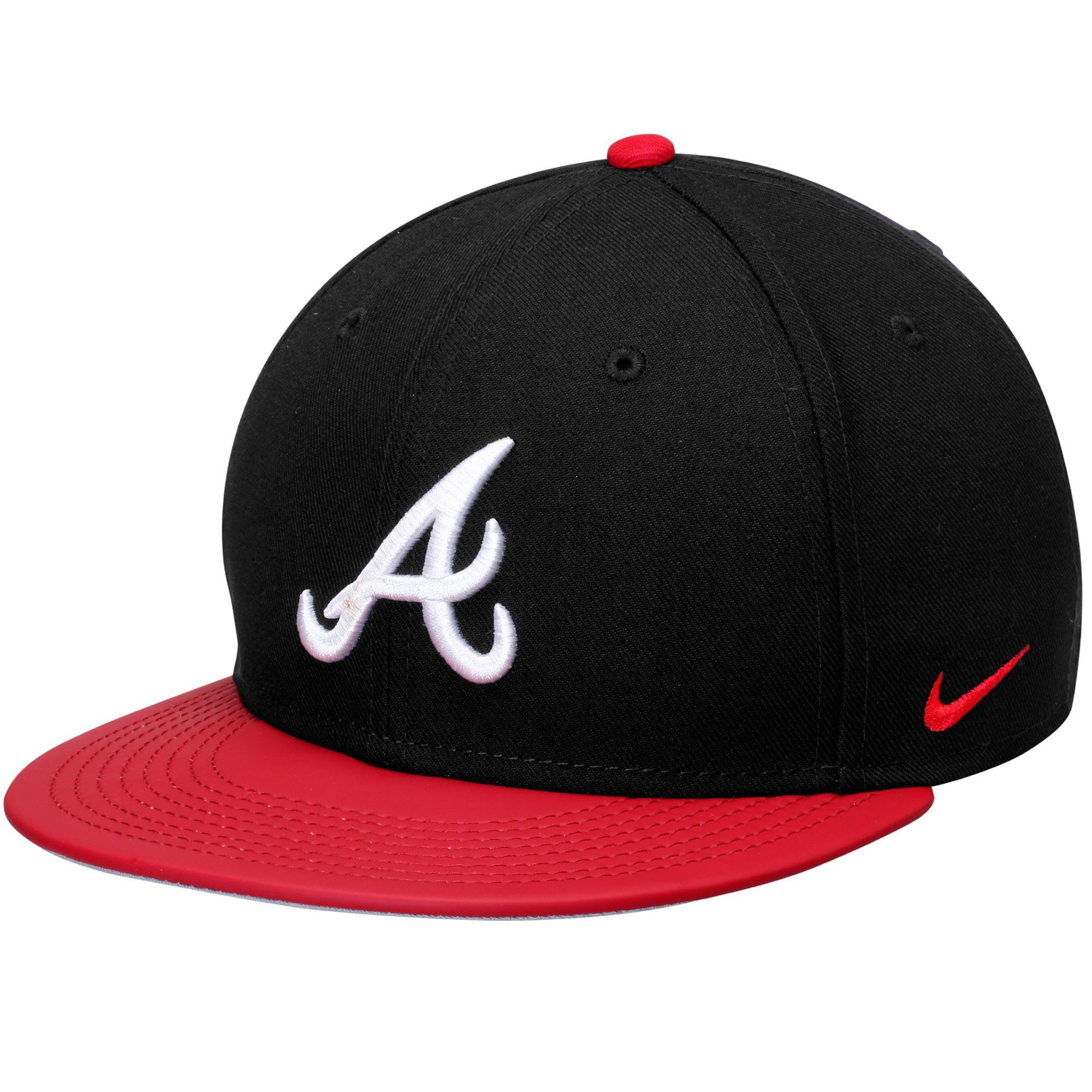 Atlanta Braves Nike True Snapback Adjustable Hat - Navy Red - OSFA -  Walmart.com b873d500147