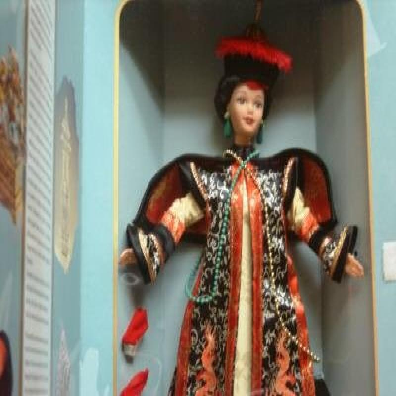 CHINESE EMPRESS BARBIE DOLL Great Eras COLLECTOR Edition ...