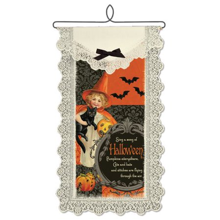 The Holiday Aisle Song of Halloween Wall Hanging