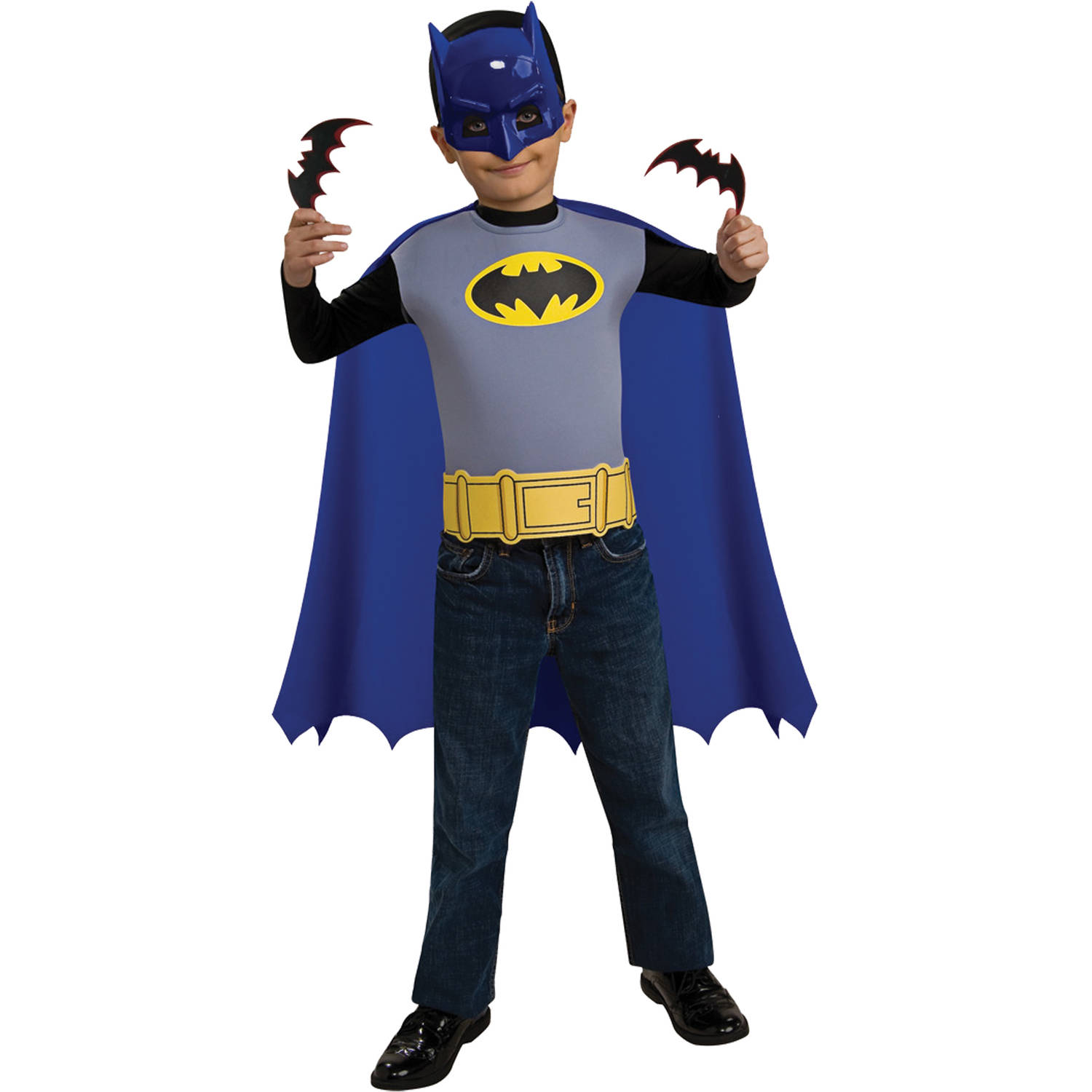 Batman The Brave And The Bold Childs Complete Costume And Accessory Set