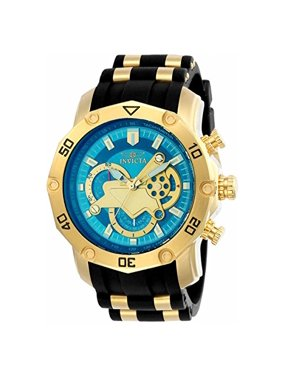 Invicta Men's 23426 Pro Diver Quartz Multifunction Blue Dial Watch