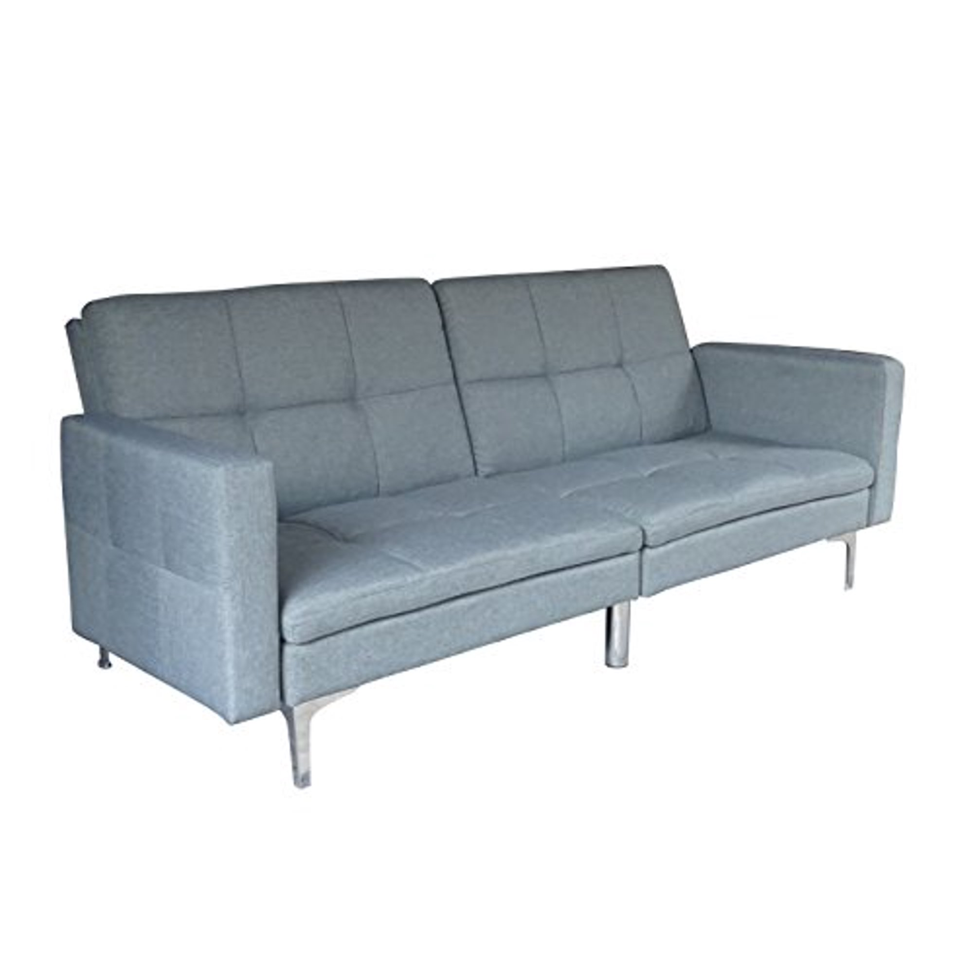 Peachy Viscologic Clarke Split Back Convertible Futon Sofa Download Free Architecture Designs Lectubocepmadebymaigaardcom