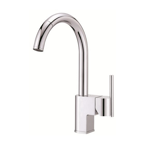 Danze Como Pull Down Single Handle Kitchen Faucet Walmart Com