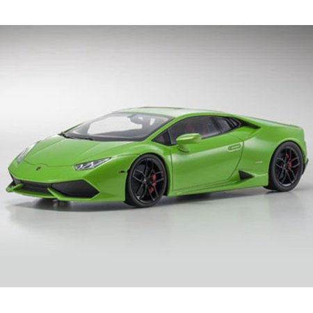 lamborghini huracan lp610 4 green 1 18 diecast model car by kyosho. Black Bedroom Furniture Sets. Home Design Ideas