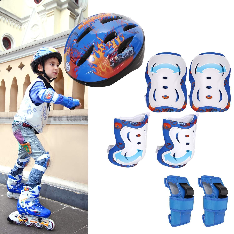 Kids Roller Skates Adjustable 4 Wheels Switchable Inline ...