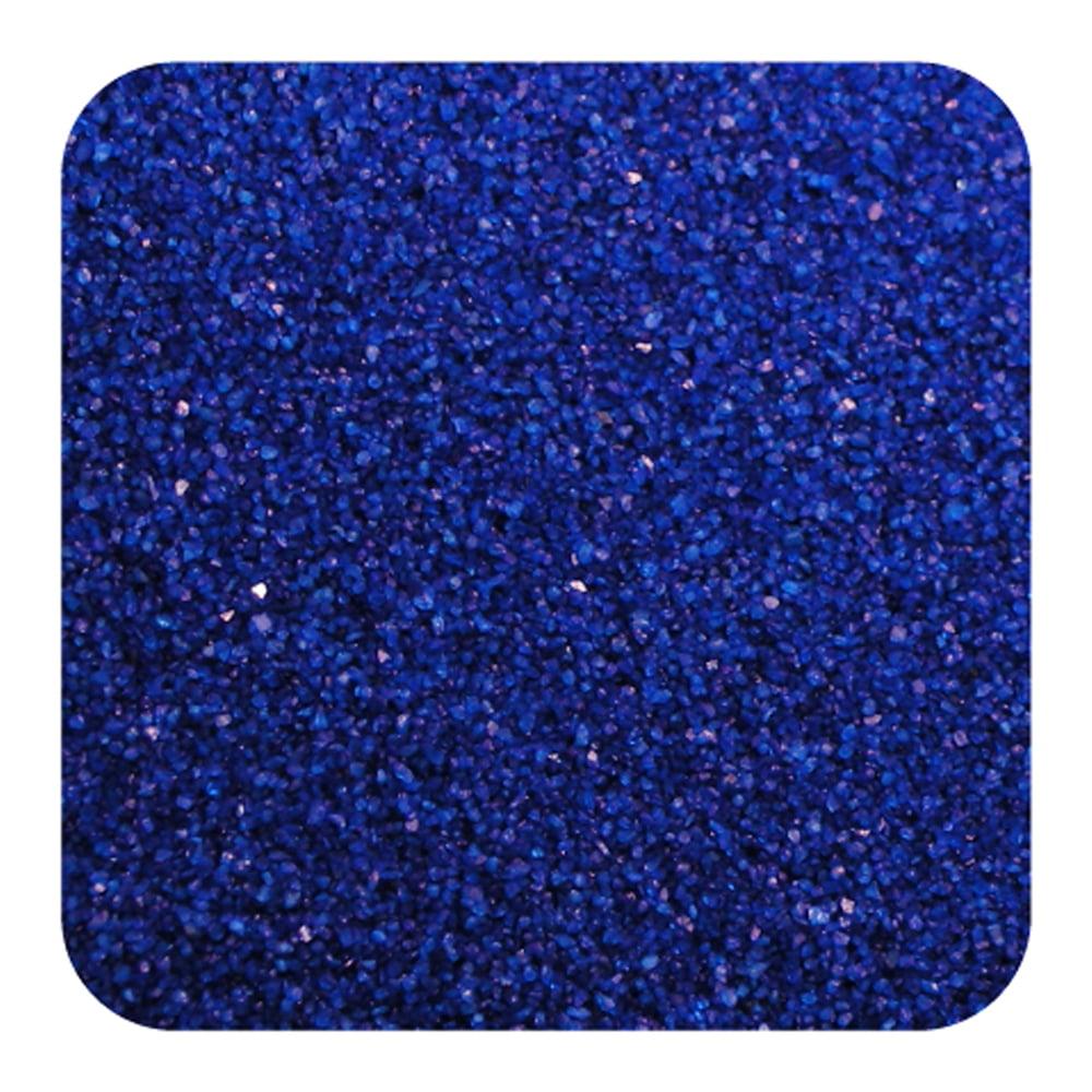 Sandtastik Floral Colored Home DecorativeSand 28 oz (795 g) Bottle - Baja Blue