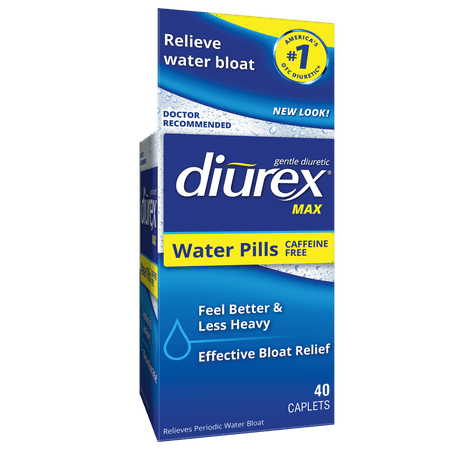 Diurex Max Maximum Strength Diuretic Caffeine-Free Water Weight Loss Ct, 40 Ct (Shaklee Weight Loss)