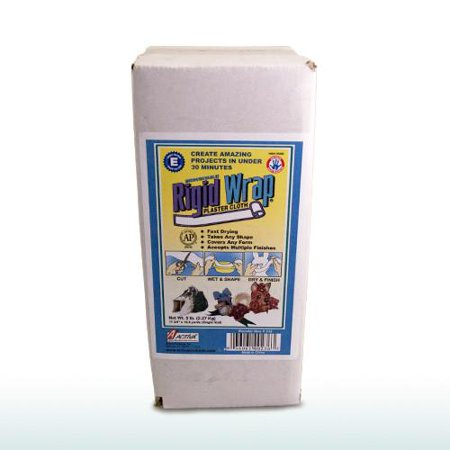 ACTÍVA 5 lb. Bulk Box of Rigid Wrap Plaster - Kids Plaster