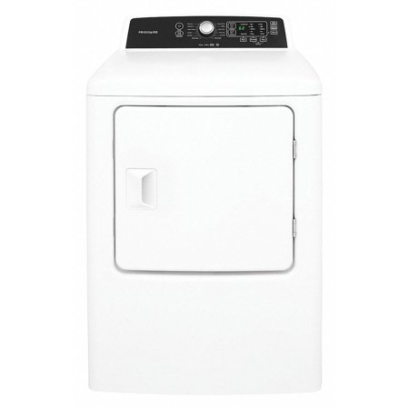 Electric Dryer, 4.0 cu. ft., White, Width 27