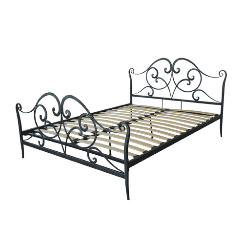 Gold Sparrow Panel Bed