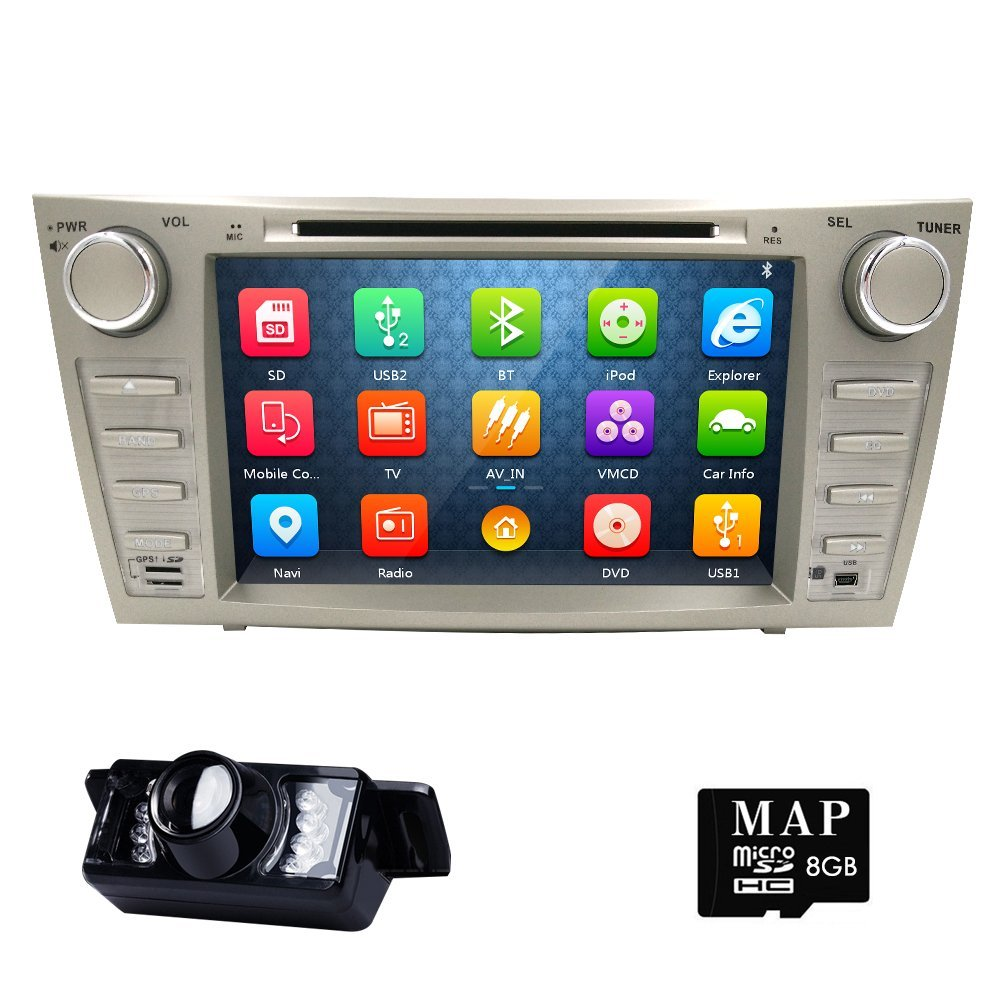 Hot Car Stereo Fit For Toyota Camry 2007 2008 2009 2010 2...