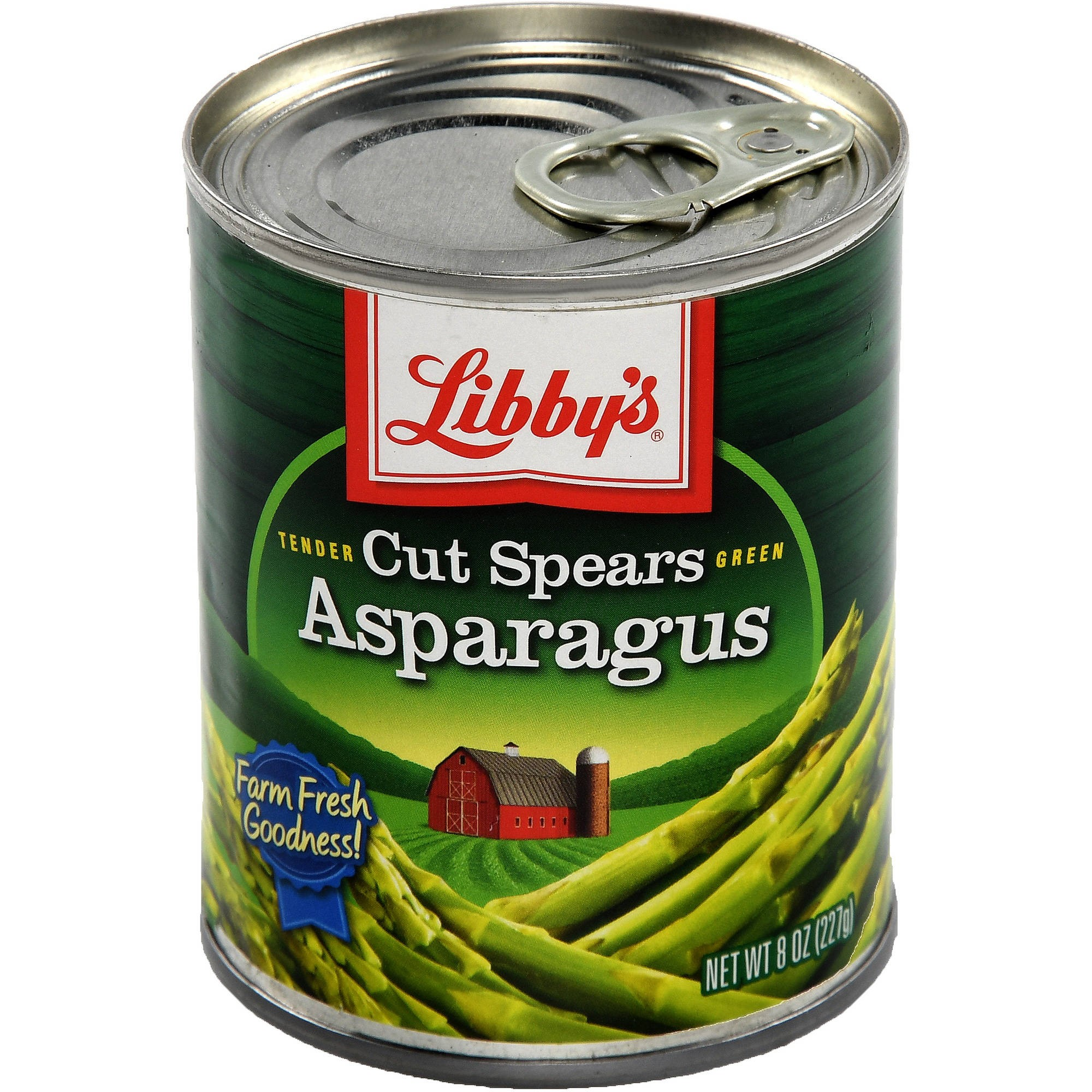 Libby's? Tender Green Cut Asparagus Spears 8 oz. Can