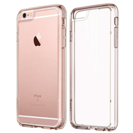 new product ae700 55eaa Apple iPhone 6 6S Plus 5.5 Case, ULAK [CLEAR SLIM] iPhone 6 Plus Clear Case  Cover Bumber Hard for Apple iPhone 6 6S Plus 5.5 Inch (Rose Gold)