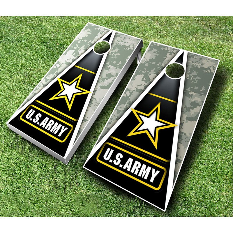 U.S. Army Tournament Cornhole Set by AJJ Cornhole