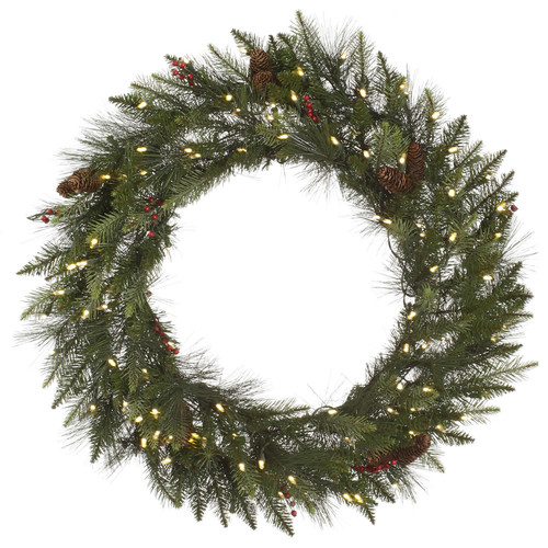 The Holiday Aisle Vallejo Mixed Pine Wreath