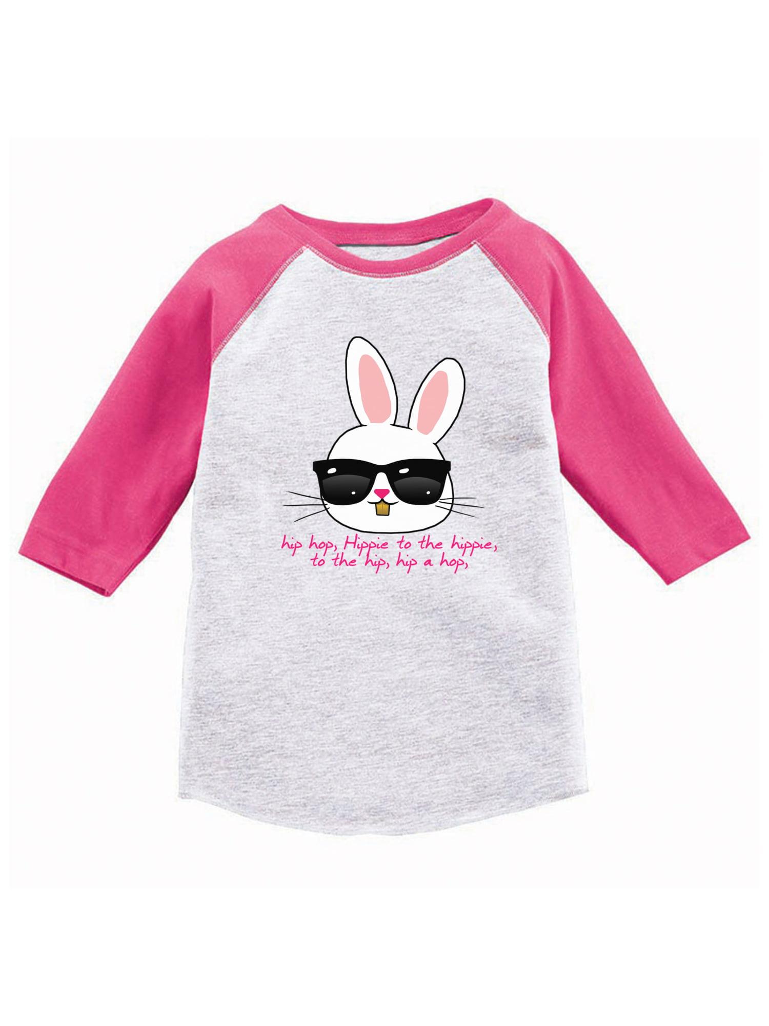 Custom Party Shop Baby Boys Brother Bunny Happy Easter Red Raglan