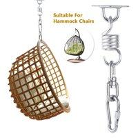 Hammock Hanging Kit Swivel Hook Stainless Steel Perfect Hammocks Chairs Beds Furniture Swings Outdoor/Indoor Accessories