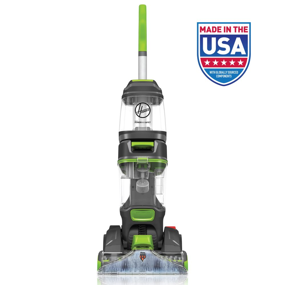 Hoover Dual Power Max Pet Carpet Cleaner w/ Antimicrobial Brushes, FH54010