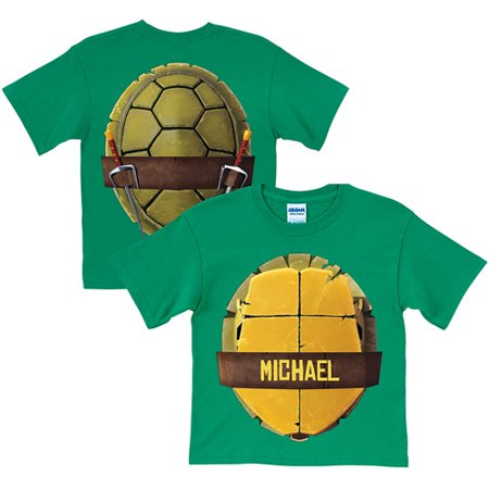 - Personalized Teenage Mutant Ninja Turtles Turtle Shell Toddler Green T-Shirt