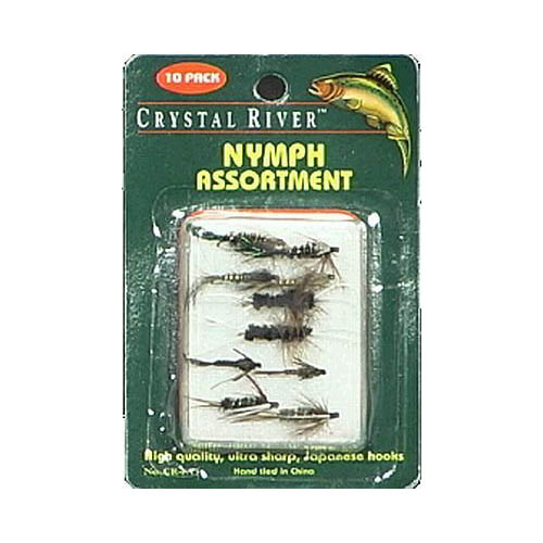 Crystal River Fly Nymph Assortments Multi-Colored