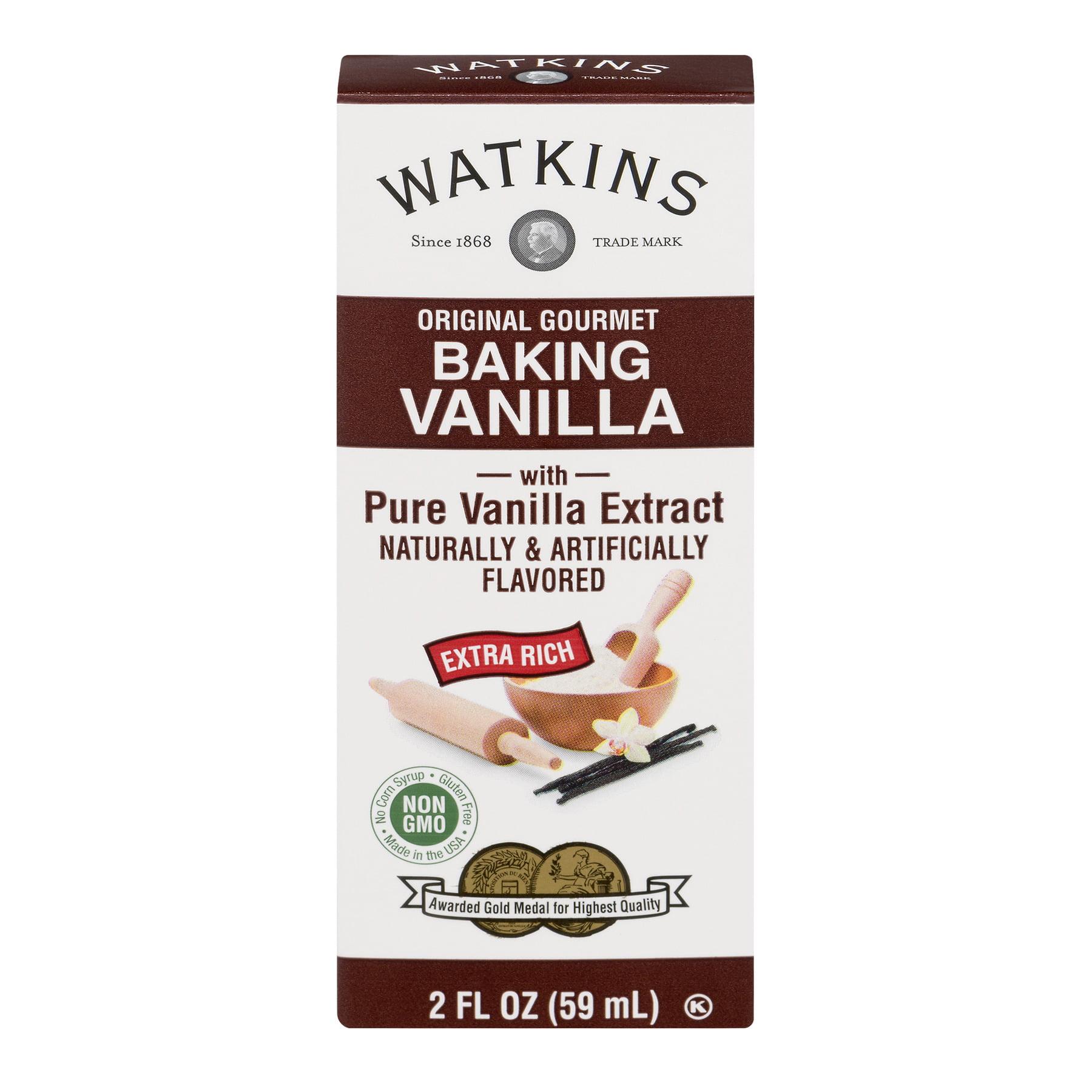 Watkins Baking Vanilla, 2 fl oz
