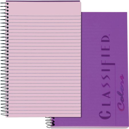 TOPS, TOP99712, Docket Gold Classified Business Notebooks, 1 Each