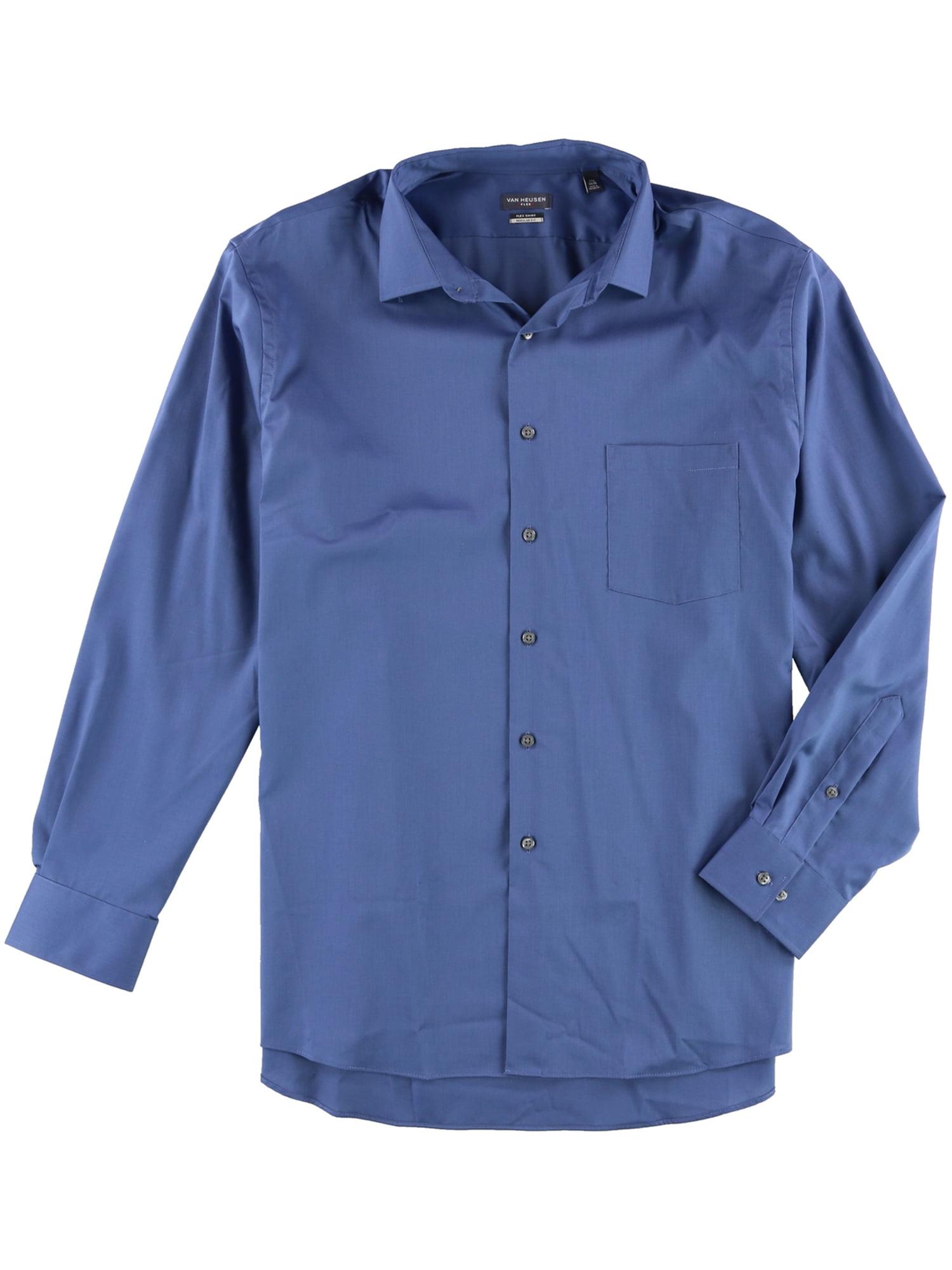 Van Heusen Van Heusen Mens Stretch Flex Button Up Dress Shirt