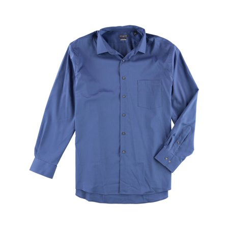 Van Heusen Mens Stretch Flex Button Up Dress Shirt ()