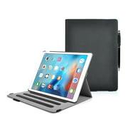 iPad Pro 2015 Minisuit Canvas Rotating Smart Case + Credit Card Pockets