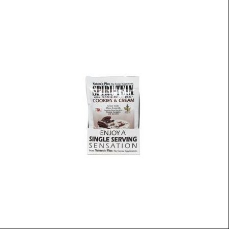 Spiru-Tein  Shake - Cookies & Cream Nature's Plus 8 Packet