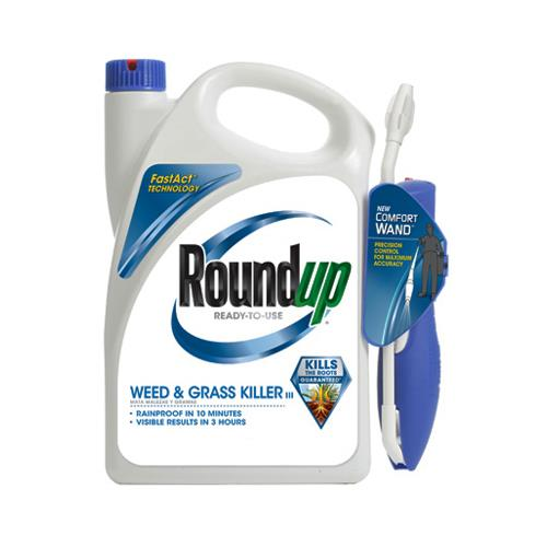 Scotts Ortho Roundup 5109010 Weed & Grass Killer, Comfort Spray Wand (Bonus Size) 1.1-Gal. RTU