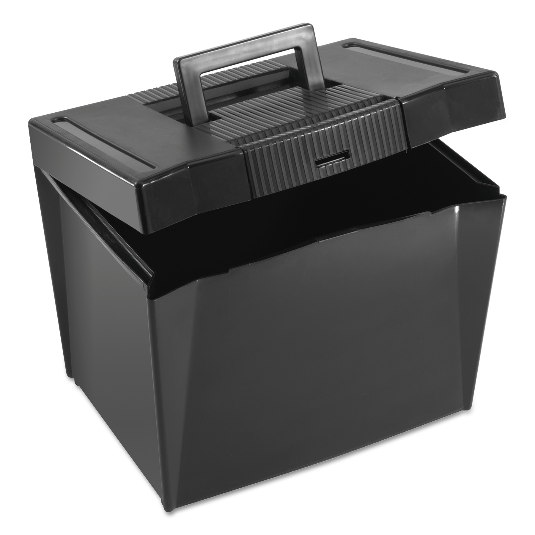 Pendaflex Economy File Box, Black, 1 Each (Quantity)