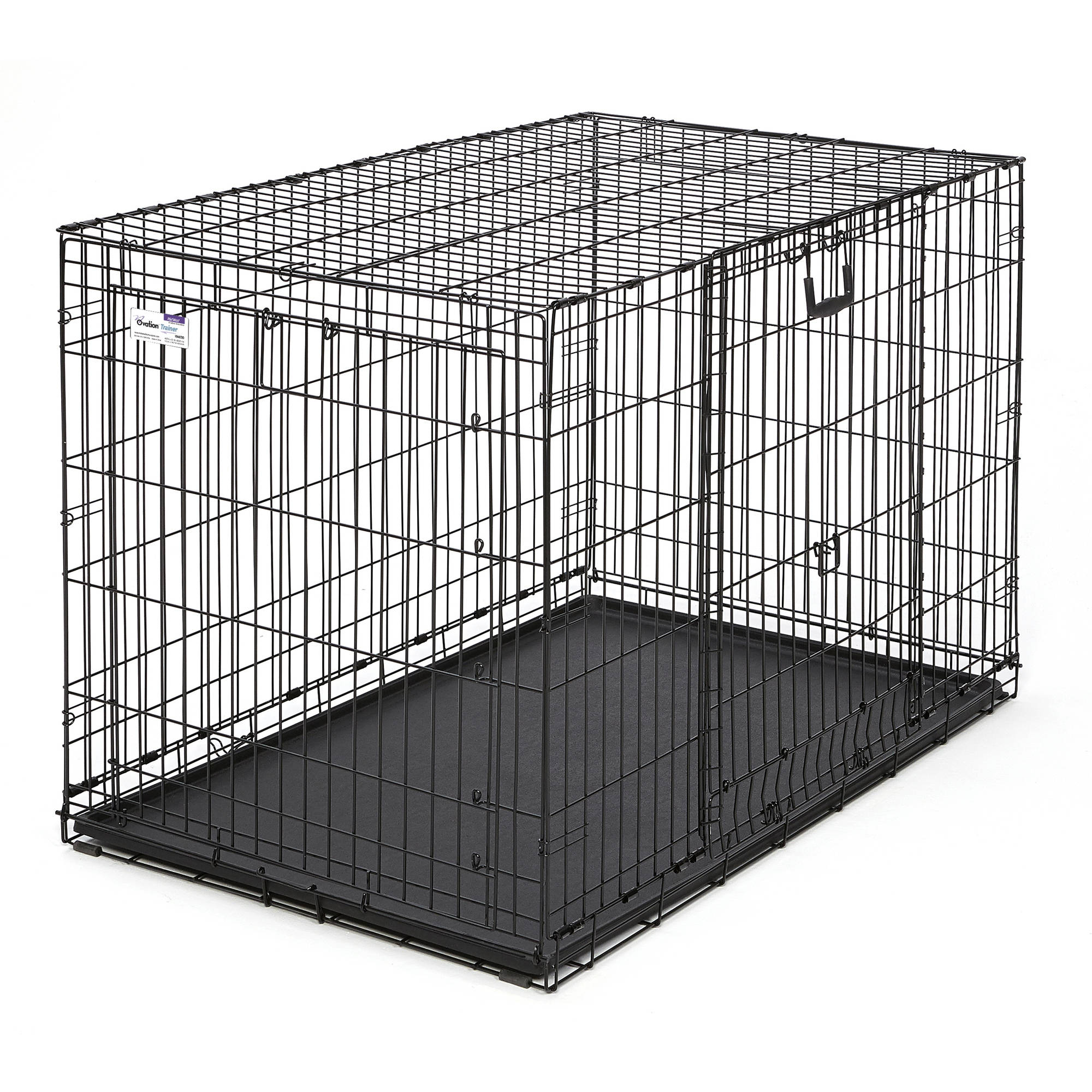 "Midwest 48"" Ovation Double Door Training Crate"