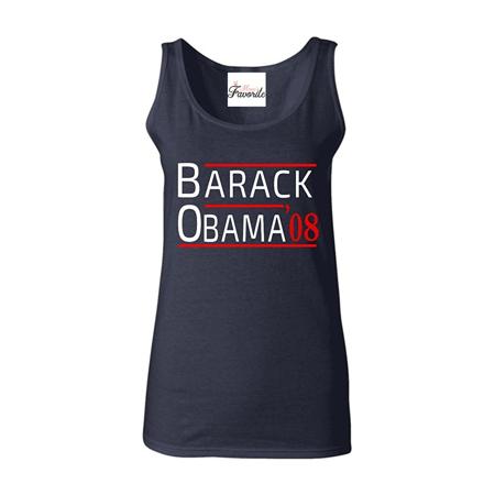 133edc6740090 Barack Obama  08 Women s Tank Top President Tank Tops - Walmart.com