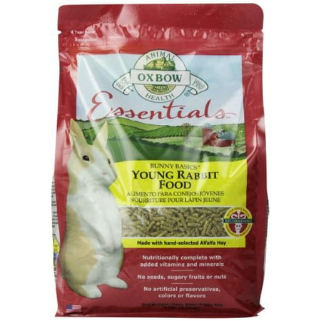 Oxbow Essentials Young Rabbit Food, 5 Lb