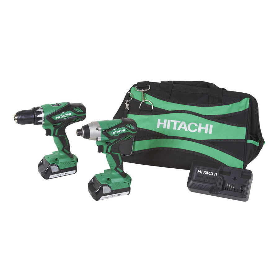 Hitachi KC18DGL Factory Reconditioned 18V Lithium Ion Dri...