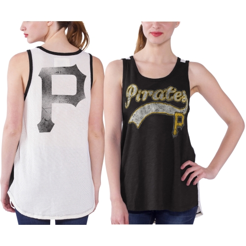 Pittsburgh Pirates Women's Era Tank Top - Black