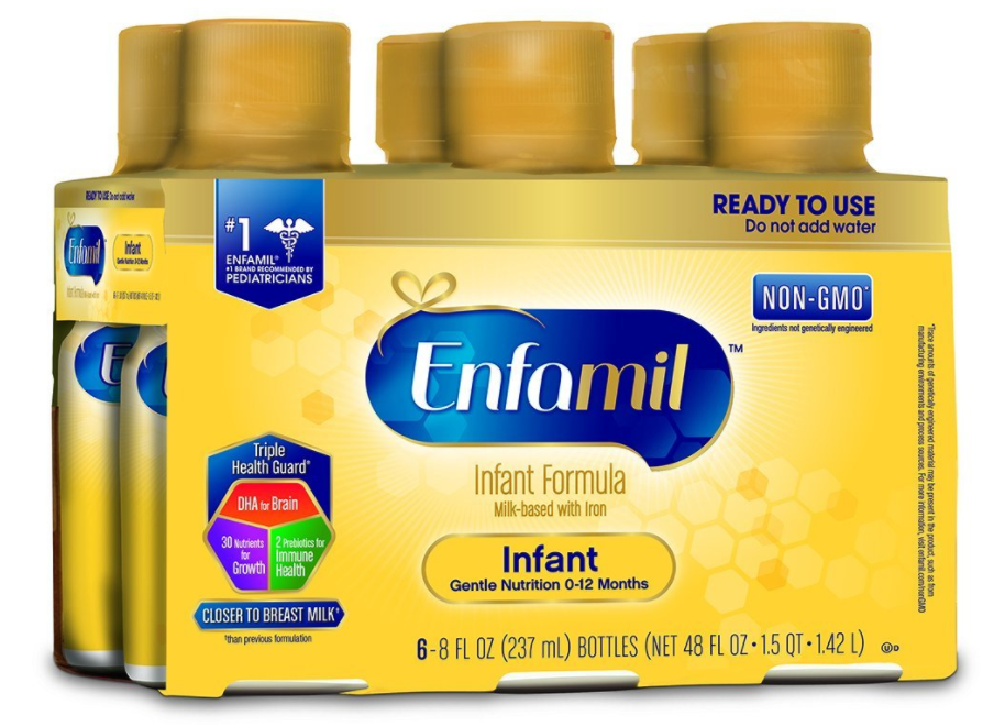 Enfamil Infant Formula (24 Count) Ready to Use 8 fl. oz. Bottles by Enfamil