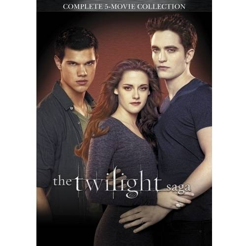 The Twilight Saga: Complete 5-Movie Collection (Widescreen)